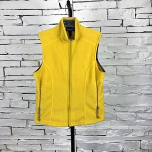 Patagonia Full Zip Yellow Synchilla Vest 1918